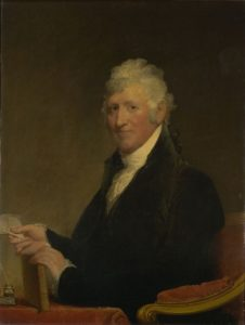 Portrait of Colonel David Humphreys by Gilbert Stuart