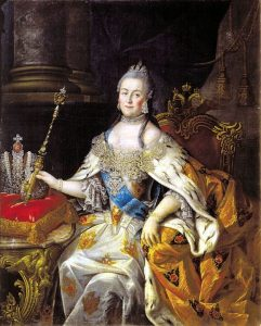 Her Imperial Majesty —Empress Catherine II (Catherine the Great) of Russia